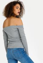 Rip Curl - Off Shoulder Top Grey