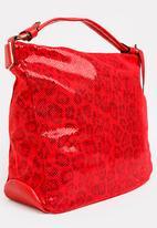 Dazzle - Printed Tote Bag Red
