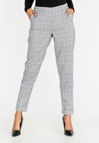 cath.nic - Plaid Check Trouser Multi-colour