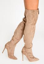 Madison® - Kessa Knee-Length Boots Taupe