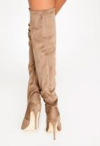 Madison® - Kessa Knee-Length Boots Taupe