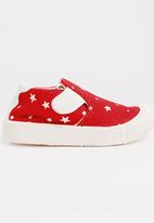 POP CANDY - Printed Sneaker Red