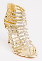 Miss Black - Morgan Heels Gold