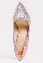 Miss Black - Lake G Court Heels Pale Pink