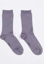 Falke - Falke Mercerised Cotton Socks Pale Purple