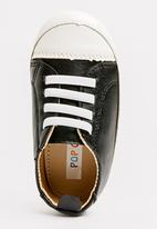 POP CANDY - Lace up sneaker - black & white