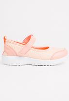 POP CANDY - Velcro Strap Slip On Mid Pink