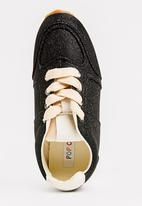POP CANDY - Lace Up Sneaker Black