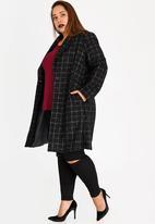 AMANDA LAIRD CHERRY - Yandiswa Wool-like Coat Black