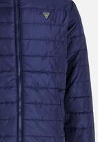 GUESS - Boys Puffer Jacket Dark Blue