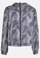 name it - Zip Through Hoody Grey