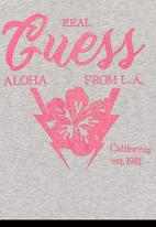GUESS - Guess Bolt Tee Pale Grey