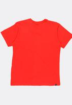 Rip Curl - V-neck tee - red