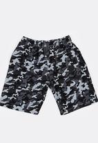 POP CANDY - Army Printed Boardshorts Grey
