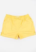 MINOTI - Basic Woven Shorts Yellow