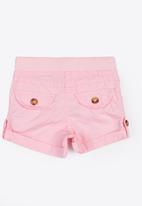 MINOTI - Basic Woven Shorts Mid Pink