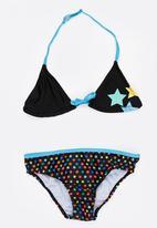 POP CANDY - Star Printed Bikini Blue