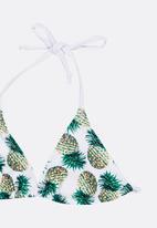 POP CANDY - Pineapple print bikini - multi