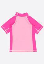 Lizzy - Charity Rashvest Pale Pink