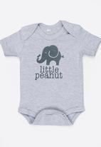 Funky Shop - Little peanut baby grow - grey