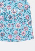Rip Curl - Summer land tank - blue & pink