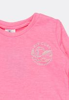 Rip Curl - Mini palms away tee - pink