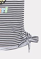 Rip Curl - Mini anak tee - black & white