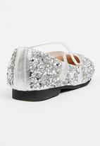 POP CANDY - Ballerina pump - silver