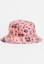 Rip Curl - Mini anak bucket hat - coral