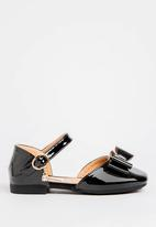 POP CANDY - Bow Detailed Pump Black