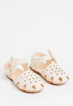 POP CANDY - Detailed Sandal White
