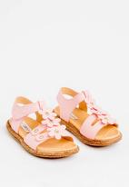 POP CANDY - Flower Detailed Sandal Pale Pink