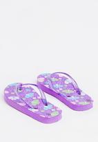 POP CANDY - Printed flip flops - purple