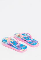 POP CANDY - Printed Flip Flops Mid Pink