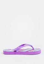 POP CANDY - Printed Flip Flops Mid Purple