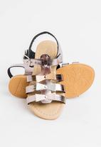 POP CANDY - Bow   Detail Sandal Dark Grey