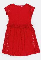 MINOTI - Rebel Lace Dress Red