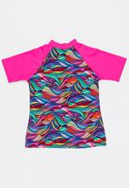 Sun Things - Rainbow Geo Rashvest Multi-colour