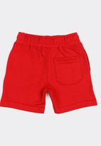 MINOTI - 1995 basic fleece shorts - red