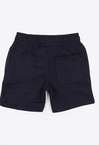 MINOTI - Basic Fleece Shorts Navy