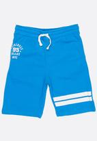 MINOTI - Basic fleece shorts - turquoise