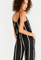 ONLY - Louisa Jumpsuit Black and White