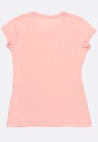 POP CANDY - Printed Tee Pale Pink
