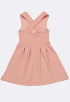 Rebel Republic - Fit & Flare Dress Pale Pink