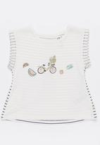 Roxy - From the jump T-shirt - cream