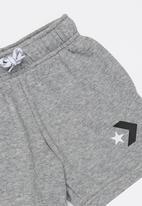 Converse - Star chevron graphic short - grey heather