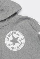 Converse - Chuck taylor sig hoodie - grey