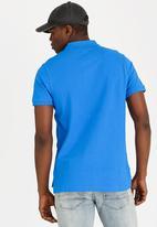 STYLE REPUBLIC - Crown Piquet Golfer Blue