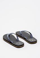 Billabong  - Stacked thong flip flop - navy