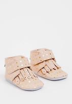 shooshoos - Wanda Booties Pale Pink